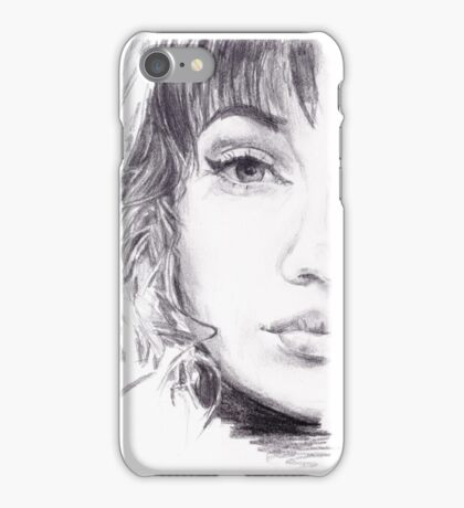 Winged Sketch iPhone Case/Skin