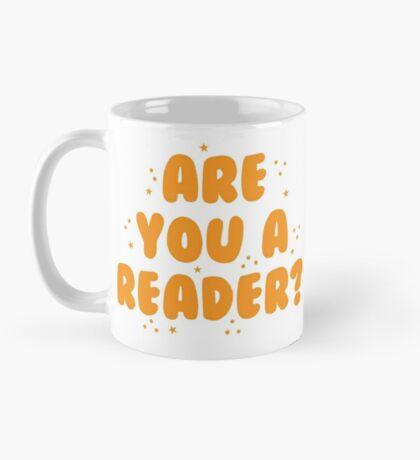 are you a reader? Mug