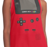 Retro Video Game Boy Console   Contrast Tank