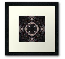 Venice Layered Kaleidoscope Framed Print