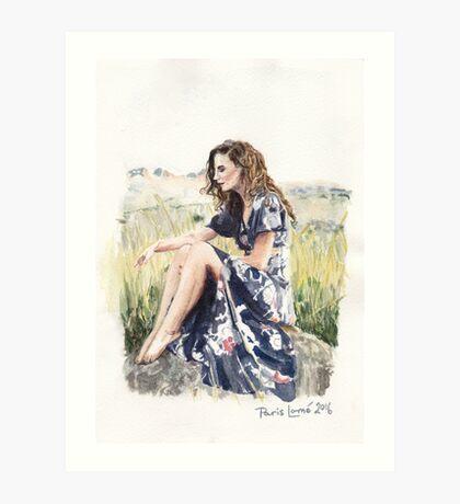 Sunshine Thoughts Art Print