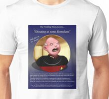 Shouty Picard comedy commemorative plate. (It's not a real plate.) Unisex T-Shirt