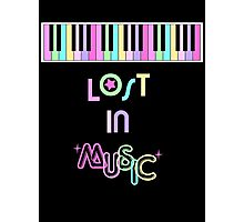 Lost in Music Photographic Print