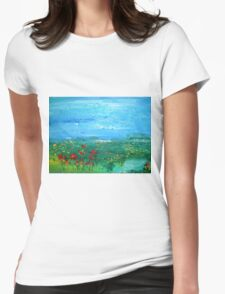 Meadow Pond Womens Fitted T-Shirt