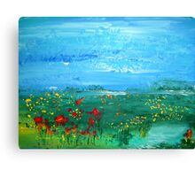 Meadow Pond Canvas Print
