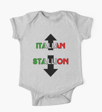 Italian Stallion One Piece - Short Sleeve