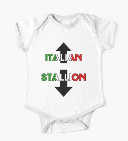 Italian Stallion One Piece - Short Sleeve