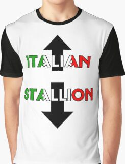 Italian Stallion Graphic T-Shirt