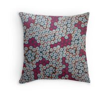 Daisy Crazy Throw Pillow