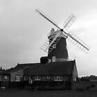 The Old Windmill by Mark.I.F. Jarvis