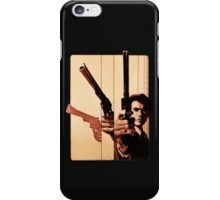 Clint has a gun iPhone Case/Skin