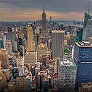 Manhattan Skyline 2 by Stuart Row