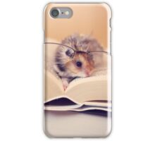 Hamster The Reader II iPhone Case/Skin