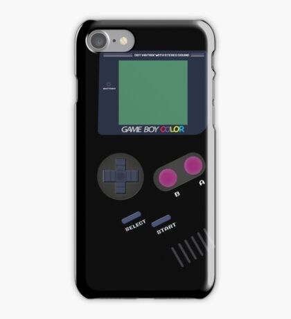 Video Old Game Boy Console  iPhone Case/Skin