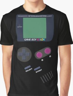 Video Old Game Boy Console  Graphic T-Shirt