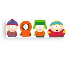 South Park - The Boys Canvas Print