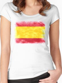 Spain Women's Fitted Scoop T-Shirt