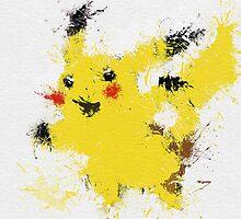 Pikachu by geekyract