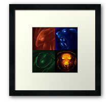 The four icons of Udyr Framed Print