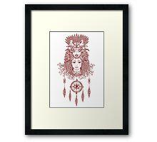 The Beast Master Framed Print