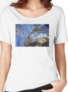 Columbus Circle, New York City Women's Relaxed Fit T-Shirt