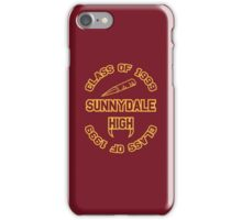 Sunnydale Class of 1999 iPhone Case/Skin