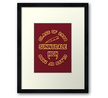 Sunnydale Class of 1999 Framed Print