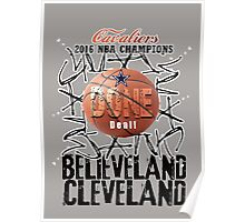 cleveland champions Poster