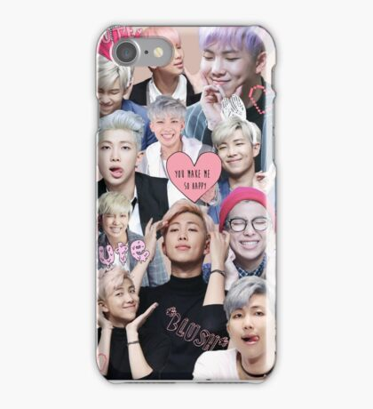 Pastel Namjoon Collage  iPhone Case/Skin