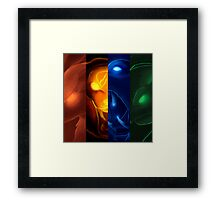 The four icons of Udyr #2 Framed Print