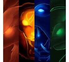 The four icons of Udyr #2 Photographic Print