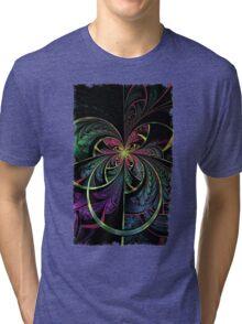 Rainbow Splits Tri-blend T-Shirt