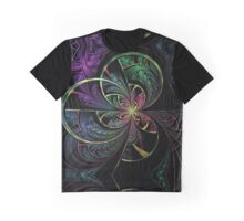 Rainbow Splits Graphic T-Shirt