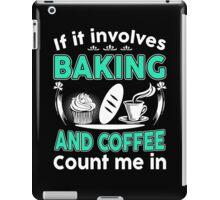 I Love Baking & Coffee iPad Case/Skin