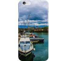 Moored Ships in the Harbour iPhone Case/Skin
