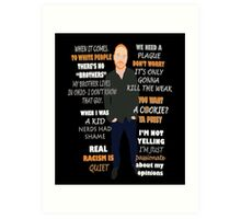 Bill Burr Quote Art Print
