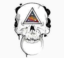 Surreal Dotwork Skull Unisex T-Shirt