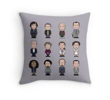 Sherlock and Friends (pillow or bag) Throw Pillow