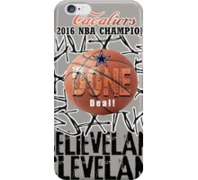 cleveland champions iPhone Case/Skin