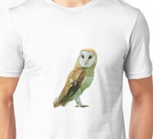 The Low Poly Owl Unisex T-Shirt