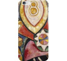 Marsden Hartley - Painting No. 48. Abstract painting: abstract art, geometric, expressionism, composition, lines, forms, creative fusion, spot, shape, illusion, fantasy future iPhone Case/Skin