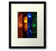The four icons of Udyr #3 Framed Print