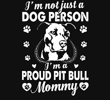 I'm A Proud Pit Bull Mommy Womens Fitted T-Shirt