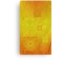 Mysterious solar flowers Canvas Print