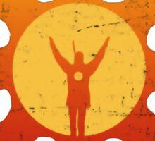 LORDRAN Praise the Sun Sticker