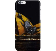 Spotted Tortoise Shell Sails - Sydney Vivid Festival iPhone Case/Skin