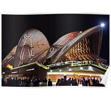 Opera House 10 Vivid 2016 Poster