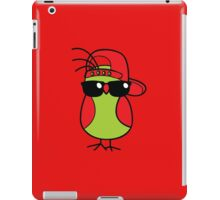Cool birb  iPad Case/Skin