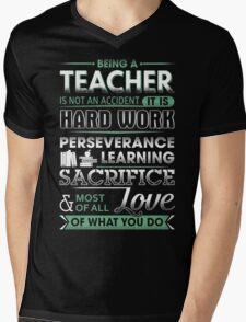 Proud Teacher Mens V-Neck T-Shirt