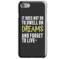 Albus Dumbledore - Dwell on Dreams iPhone Case/Skin